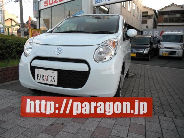 アルト エコ 画像1経済性に優れた軽自動車、スズキアルトエコ!お買い得価格車!!