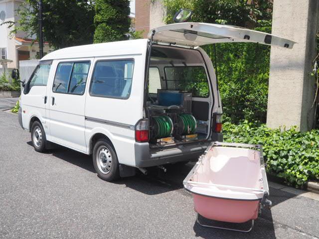 マツダ ボンゴ 移動入浴車 ワンオーナー モリタエコノス製造 分割湯舟