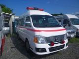 日産 キャラバン 救急車 4WD 超低走行
